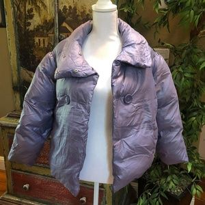 United Colors of Benetton Purple Puffer Jacket XL